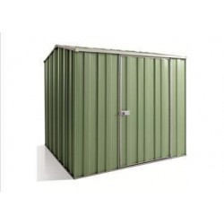 Spanbilt Yardsaver G66-S Spacemaker Colour 2.105m x 2.105m x 2.025m Gable Roof Garden Shed Medium Garden Sheds